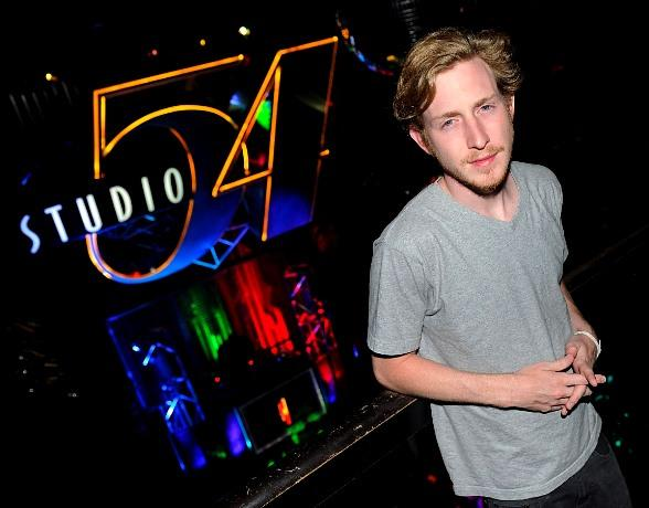 Rapper Asher Roth gives special performance at Studio 54 at MGM Grand in Las Vegas