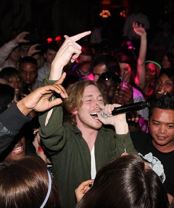 Asher Roth performs at Vanity Nightclub