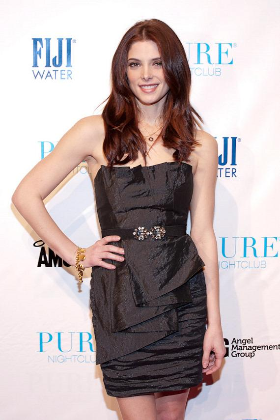 Ashley Greene of Twilight Saga celebrates her 24th birthday at PURE Nightclub