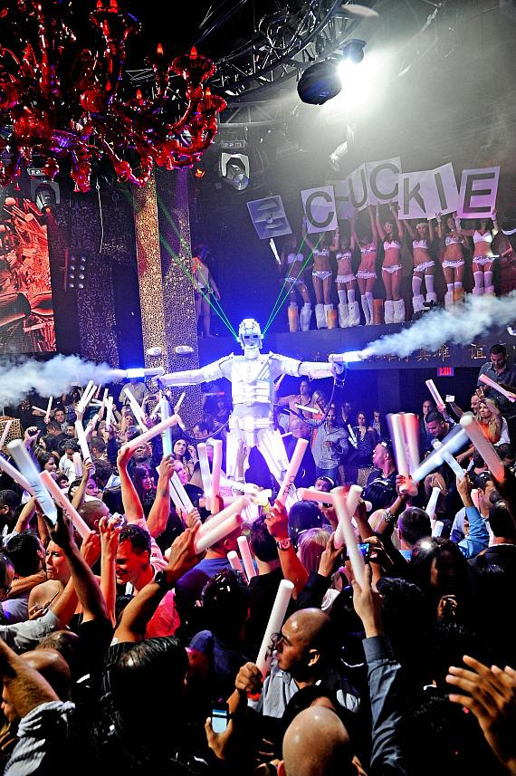 Chuckie performs at TAO