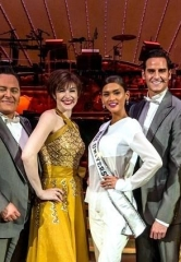 Miss Universe Takes in ShowStoppers at Encore Theater in Wynn Las Vegas