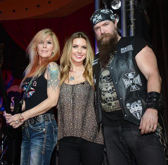 Audrina Patridge, Lita Ford and Zakk Wylde