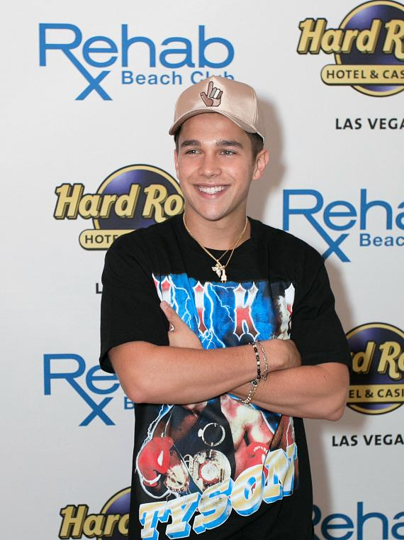 Austin Mahone at REHAB