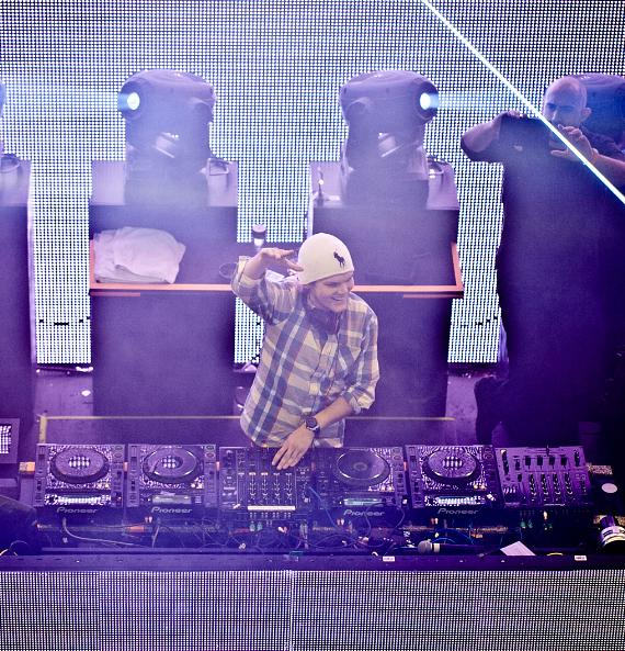 Avicii performs at Marquee One Year Anniversary