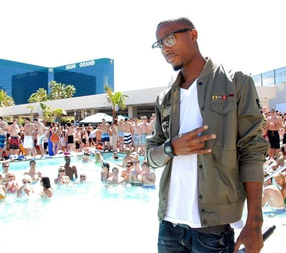 B.o.B at WET REPUBLIC