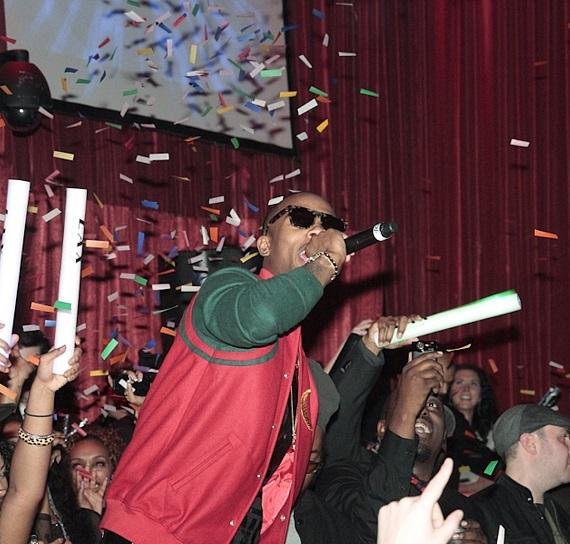 B.o.B performs at LAX Nightclub