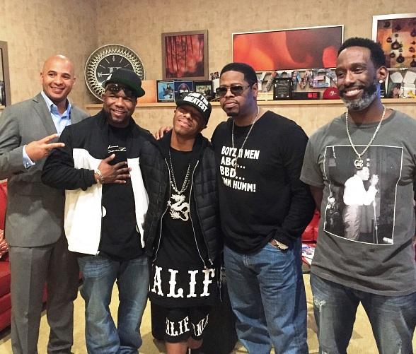 SisQó attends Boyz II Men's Show at The Mirage