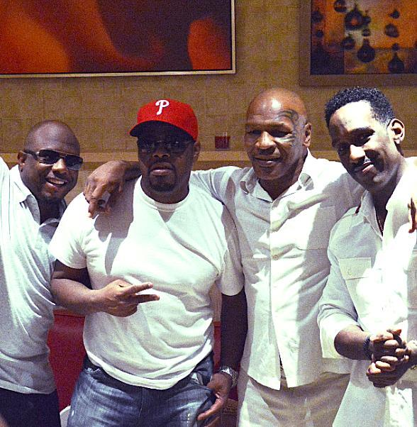 Mike Tyson Attends Boyz II Men at The Mirage in Las Vegas