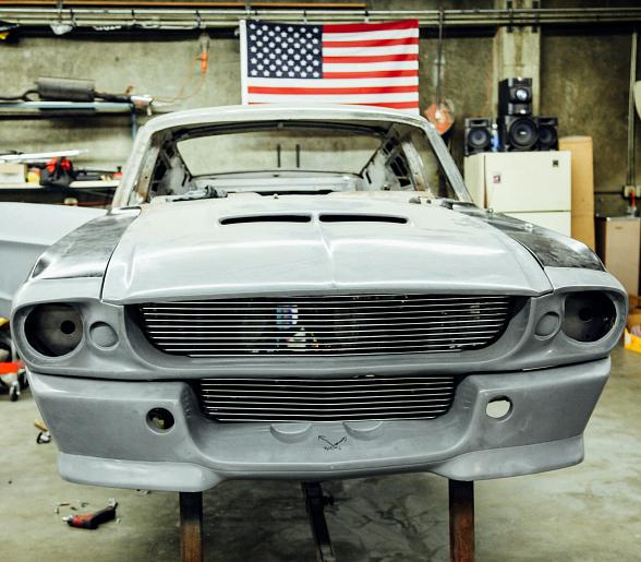 Imagine Dragons Frontman Dan Reynolds gets an Iconic Mustang Fastback on History's