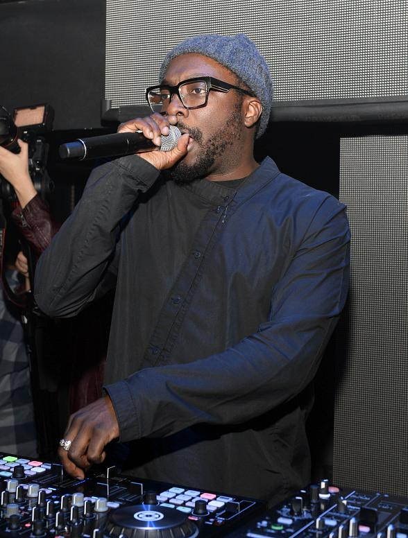 Will.i.am performs at LIGHT Nightclub at Mandalay Bay Hotel & Casino