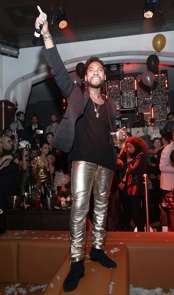 Miguel performs at Hyde Bellagio