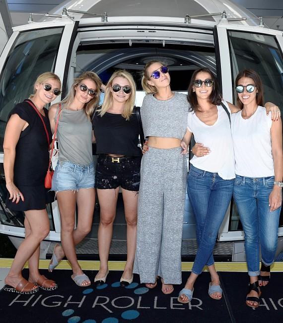 Whitney Port and friends board the High Roller at The LINQ in Las Vegas