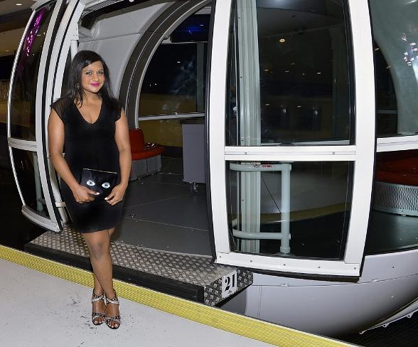 "High Roller Attracts Both Mindy Kaling from ""The Mindy Project"" and ""American Idol"" alum Pia Toscano"