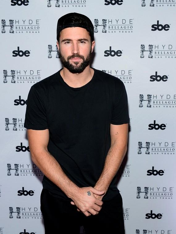 Brody Jenner arrives at Hyde Bellagio