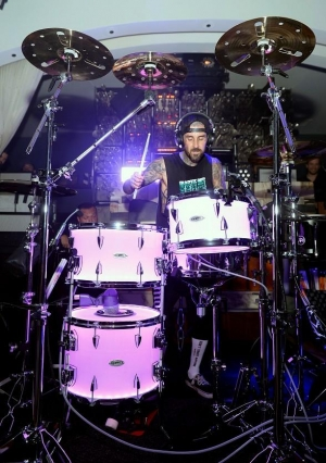 Travis Barker Kicks Off Residency at Hyde Bellagio in Las Vegas