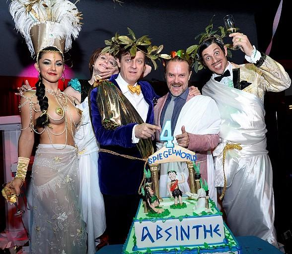 Absinthe Celebrates Four-Year Anniversary with a Toga Party