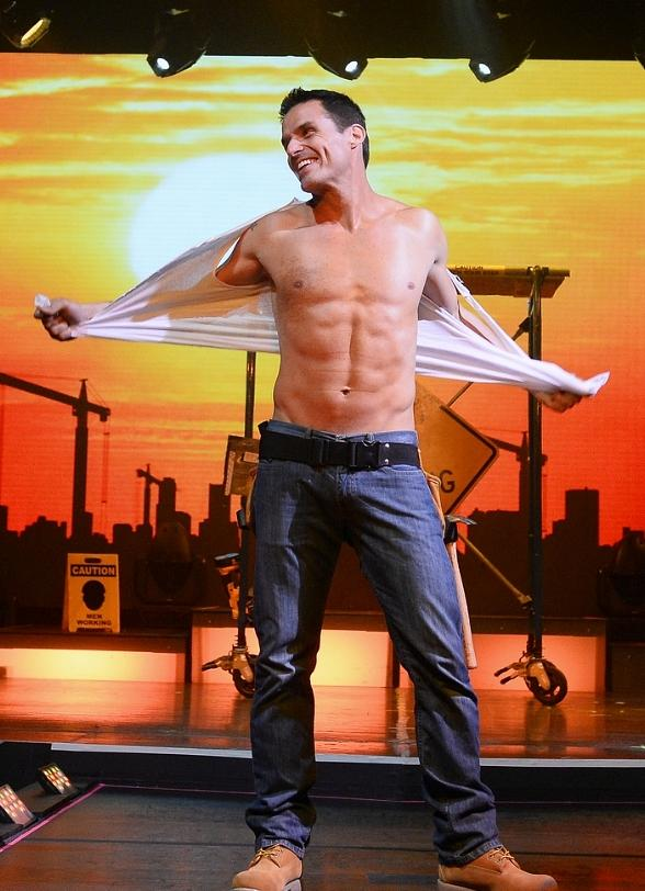 Photo Gallery: Antonio Sabato Jr hosts Chippendales at Rio All-Suite Hotel & Casino