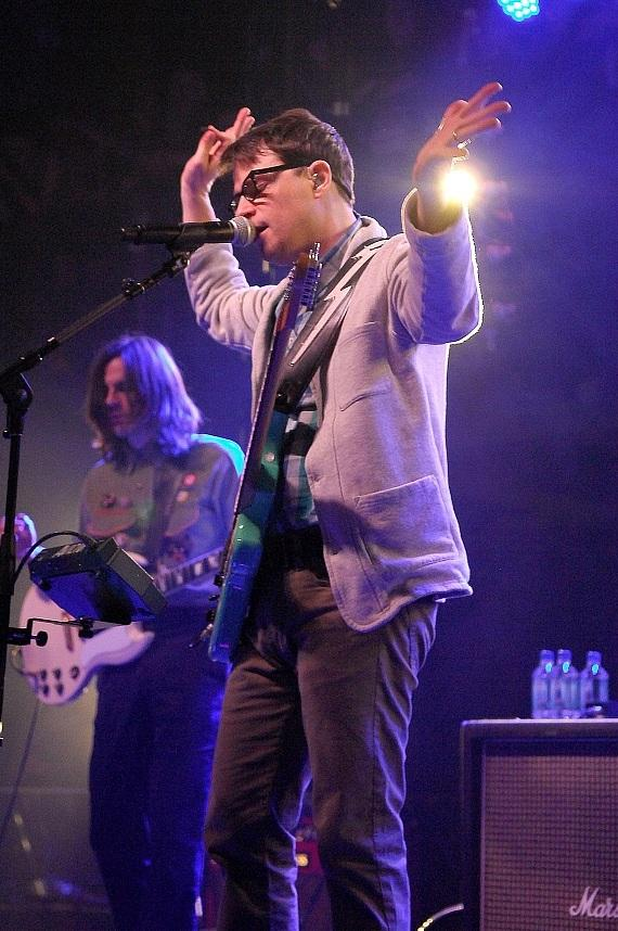 Weezer performs private show for AG Jeans at Haze Nightclub in Las Vegas