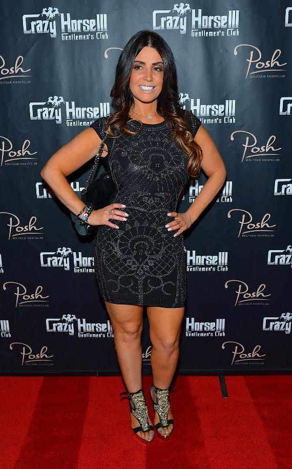 Ramona Rizzo on red carpet at Crazy Horse III