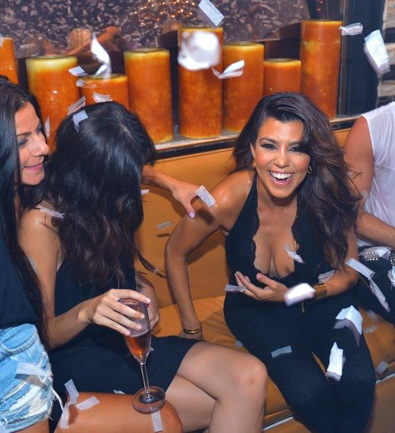Kourtney Kardashian at Hyde Bellagio in Las Vegas