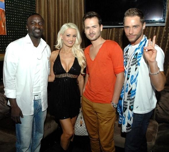 Akon, Holly Madison, Edward Maya and Josh Strickland 