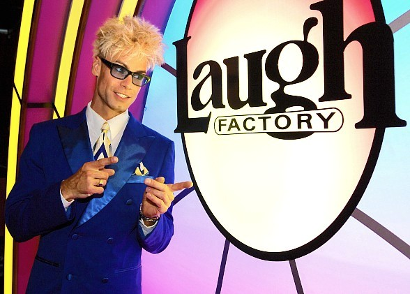 Murray SawChuck will celebrate 2 years at the Laugh Factory in Troicana Las Vegas.