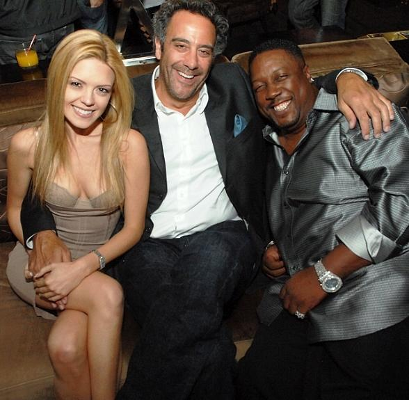 Brad Garrett Parties with Friends at Blush Boutique Nightclub