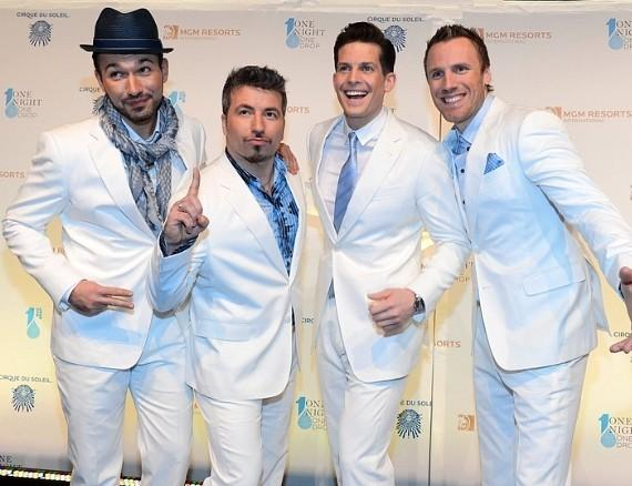 Victor Micallef, Remigio Pereira, Clifton Murray and Fraser Walters of The Tenors