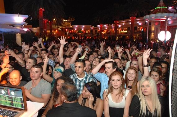 Crowd at Surrender Nightclub