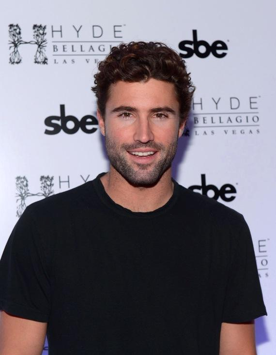 Brody Jenner poses on red carpet at Hyde Bellagio, Las  Vegas