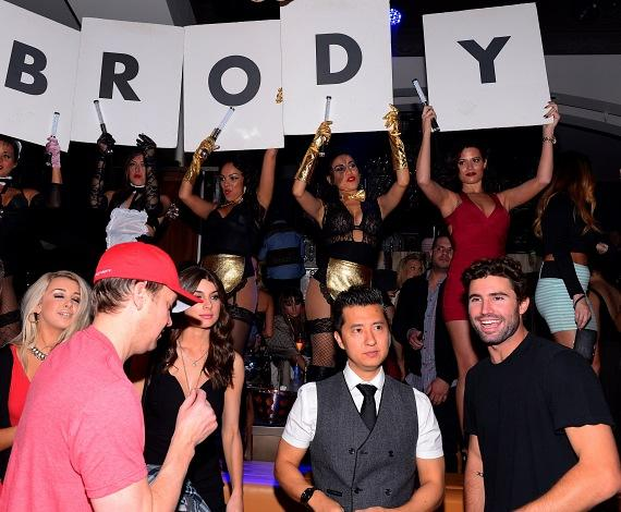 Brody Jenner parties inside Hyde Bellagio