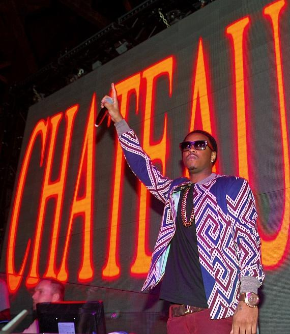Jeremih performs at Chateau Nightclub