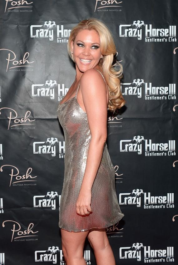 Shanna Moakler on Crazy Horse III red carpet