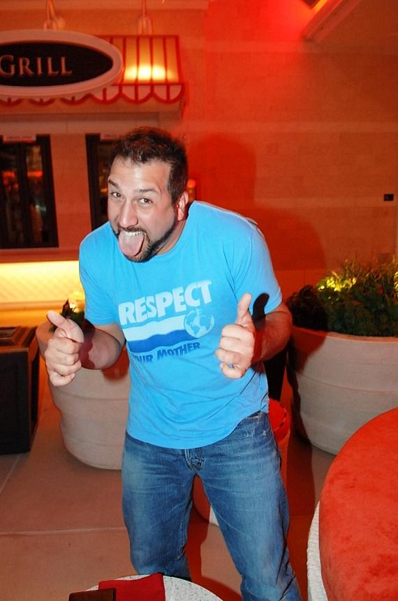 Joey Fatone at Surrender Nightclub