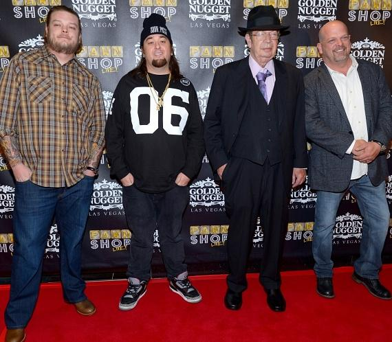 "Pawn Stars: Corey ""Big Hoss"" Harrison, Austin ""Chumlee"" Russell, Richard ""Old Man"" Harrison and Rick Harrison"