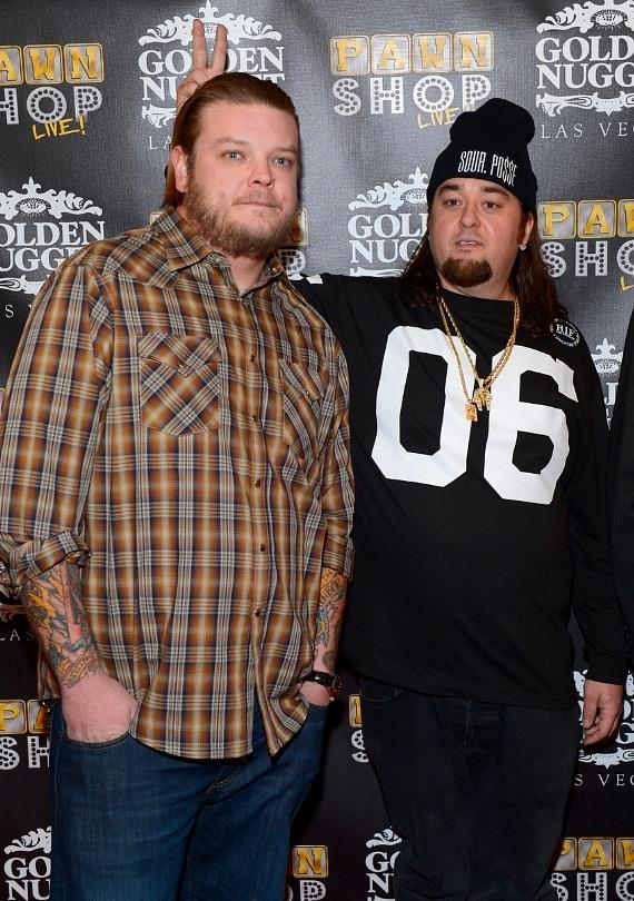 "Pawn Stars Corey ""Big Hoss"" Harrison and Austin ""Chumlee"" Russell"