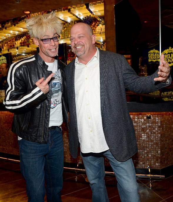 "Cast of TV's ""Pawn Stars"" plus Murray SawChuck, Chloe Crawford, Pia Zadora, Sabina Kelley and Ricardo Laguna at ""Pawn Shop Live"" Opening at Golden Nugget"