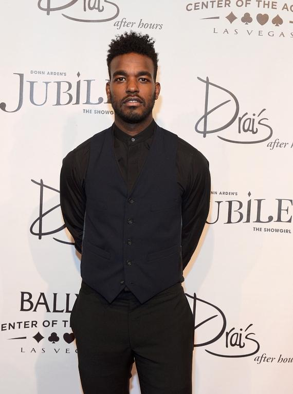 Singer/songwriter Luke James arrives at the 'Jubilee!' show's grand reopening at Ballys Las Vegas
