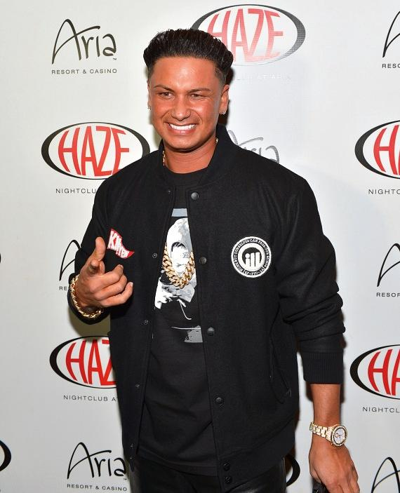 Pauly D at Haze Nightclub in Las Vegas