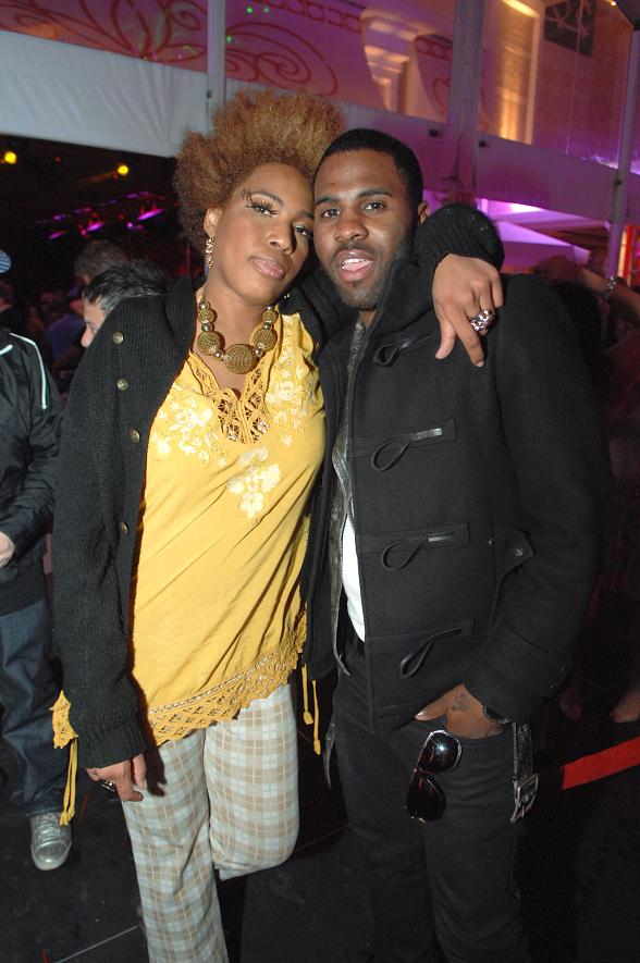 Macy Gray and Jason Derulo together at Surrender