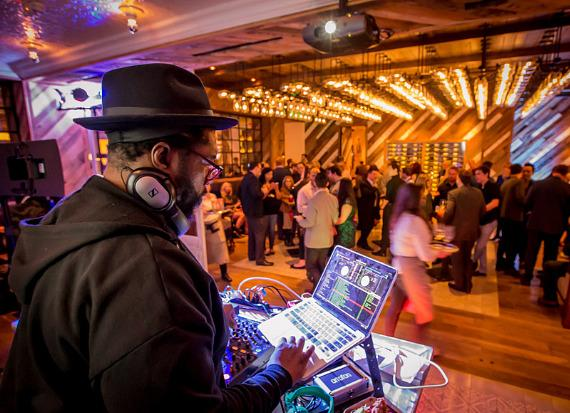 DJ Questlove at Yardbird Southern Table & Bar at The Venetian Las Vega