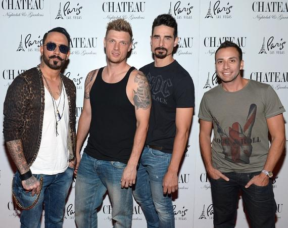 Backstreet Boys on the red carpet