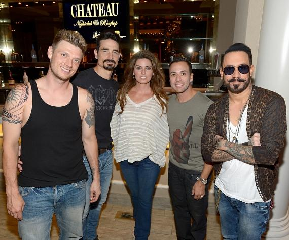 Backstreet Boys with Shania Twain