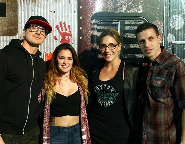 """Ghost Adventures"" Star Zak Bagans Visits Fright Dome at Circus Circus in Las Vegas"