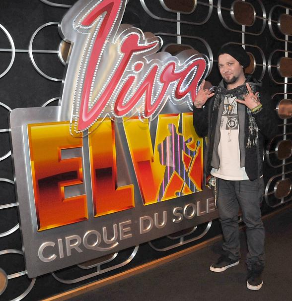 Daredevil Bam Margera at Viva ELVIS