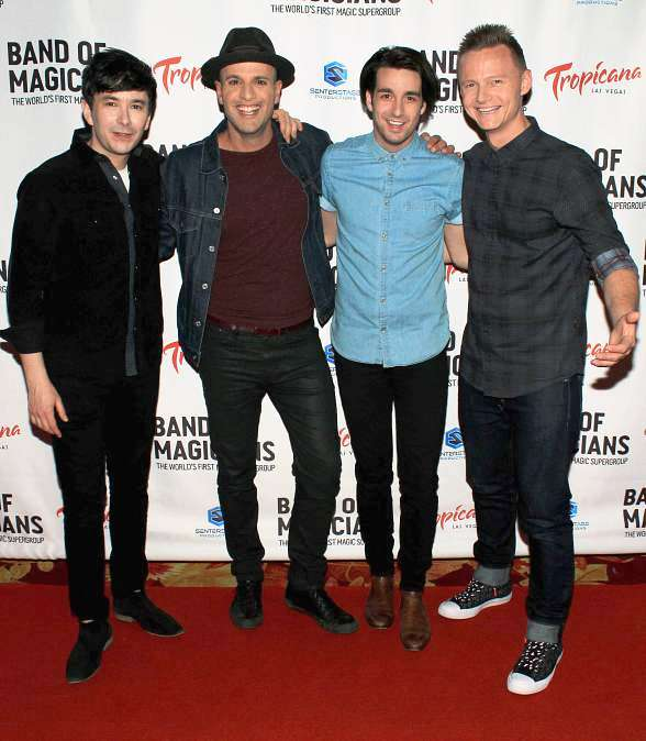 """Band of Magicians"" Dazzles with VIP Red Carpet Premiere at Tropicana Las Vegas"
