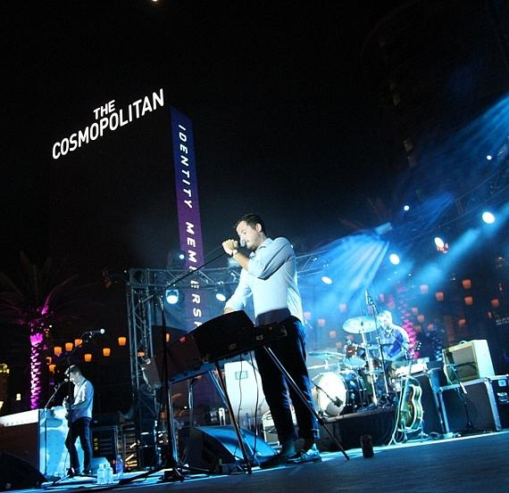 Barcelona performs during Thursdays Live at The Cosmopolitan of Las Vegas' Boulevard Pool