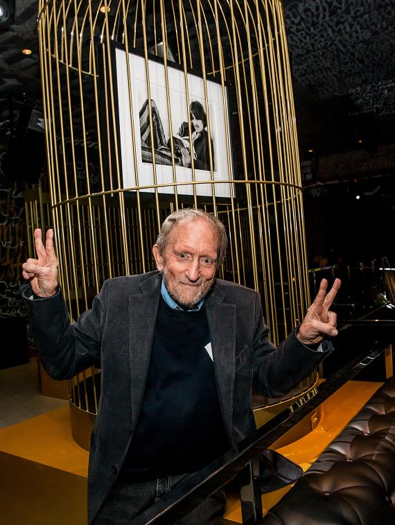 Baron Wolman at the Iconic Images Gallery after-party inside Foxtail