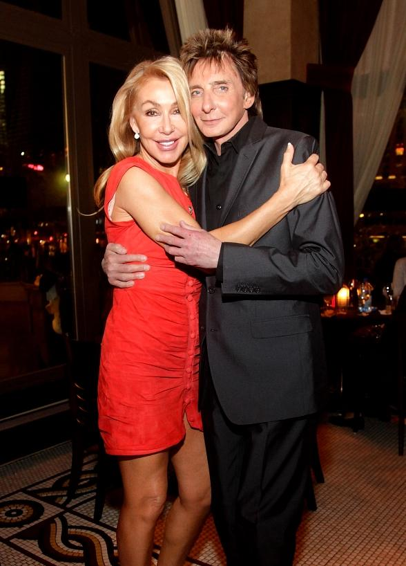 Barry Manilow and Linda Thompson