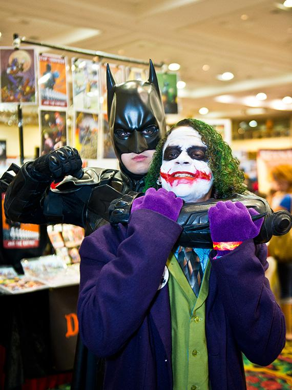 Batman & Joker (cosplay)